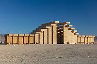 The Temple of Direction Build<br /> by: Geordie Van Der Bosch<br /> from: San Francisco, CA<br /> year: 2019<br /> <br /> The Temple of Direction is organized linearly. It recreates a restricted passage which expands in the center into a large hall. This is a response to the openness of the playa; it creates a space traveled end to end; versus wandering an open plan; this temple provides direction and focus. Linearity also reflects the passage of life; all lives have a beginning, a middle and an end which metaphorically is included in this temple's form. Following this metaphor a variety of spaces are created; narrow spaces and wide spaces, dark spaces and bright spaces. Tunnels create intimate experiences with shade.. A large central hall expands in width and height providing a bright area suitable for gatherings.<br /> <br /> URL: https://www.templeofdirection.org<br /> Contact: templeofdirection@gmail.com<br /> <br /> https://burningman.org/event/brc/2019-art-installations/?yyyy=&artType=H#a2I0V00000167U9UAI My Burning Man 2019 Photos:<br /> https://Duncan.co/Burning-Man-2019<br /> <br /> My Burning Man 2018 Photos:<br /> https://Duncan.co/Burning-Man-2018<br /> <br /> My Burning Man 2017 Photos:<br /> https://Duncan.co/Burning-Man-2017<br /> <br /> My Burning Man 2016 Photos:<br /> https://Duncan.co/Burning-Man-2016<br /> <br /> My Burning Man 2015 Photos:<br /> https://Duncan.co/Burning-Man-2015<br /> <br /> My Burning Man 2014 Photos:<br /> https://Duncan.co/Burning-Man-2014<br /> <br /> My Burning Man 2013 Photos:<br /> https://Duncan.co/Burning-Man-2013<br /> <br /> My Burning Man 2012 Photos:<br /> https://Duncan.co/Burning-Man-2012