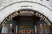 St. Louis Missouri MO USA, Interior of the St. Louis Union station the largest train station in the world