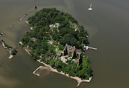 Bannerman's Castle on Pollepel Island in the Hudson River on June 20, 2011.