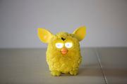Belo Horizonte_MG, Brasil.<br /> <br /> Boneco Furby, uma nova geracao de brinquedos inteligentes que reagem ao comportamento de cada crianca.<br /> <br /> Furby doll, a new generation of smart toys that react to the behavior of each child.<br /> <br /> Foto: LEO DRUMOND / NITRO