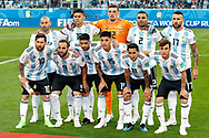 Team of Argentina before the 2018 FIFA World Cup Russia, Group D football match between Nigeria and Argentina on June 26, 2018 at Saint Petersburg Stadium in Saint Petersburg, Russia - Photo Stanley Gontha / Pro Shots / ProSportsImages / DPPI