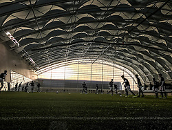 Scotland v Wales, Under 16 Victory Shield game, played 1/11/2016 at Oriam, Scotland's Sports Performance Centre at Heriot-Watt University.