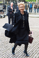 © Licensed to London News Pictures. 07/06/2017.  London, UK. PATRICIA HODGE attends the Memorial Service of RONNIE CORBETT at Westminster Abbey. The entertainer, comedian, actor, writer, and broadcaster was best known for his long association with Ronnie Barker in the BBC television comedy sketch show The Two Ronnies. Photo credit: Ray Tang/LNP