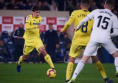 Real Madrid CF at Villarreal CF - 3 Jan 2019