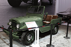 12 February 2015:  Toyota FJ25 Landcruiser.<br /> <br /> First staged in 1901, the Chicago Auto Show is the largest auto show in North America and has been held more times than any other auto exposition on the continent. The 2015 show marks the 107th edition of the Chicago Auto Show. It has been  presented by the Chicago Automobile Trade Association (CATA) since 1935.  It is held at McCormick Place, Chicago Illinois