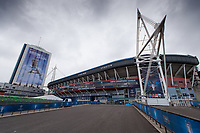 A general view of the National Stadium of Cardiff on the eve of the UEFA Champions League Final match between Real Madrid and Juventus at the National Stadium of Wales, Cardiff, Wales on 2 June 2017. Photo by Giuseppe Maffia..<br /> <br /> Giuseppe Maffia/UK Sports Pics Ltd/Alterphotos