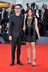 Fabio Rovazzi, Karina Bezhenar attending the Vox Lux premiere during the 75th Venice Film Festival