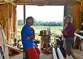 20130328 Croker's Wooden Oars facility. Gary TYER Workshop. NSW. Australia