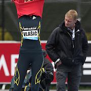 Blanka Vlasic, Croatia, winning the Women's High Jump during the Diamond League Adidas Grand Prix at Icahn Stadium, Randall's Island, Manhattan, New York, USA. 25th May 2013. Photo Tim Clayton
