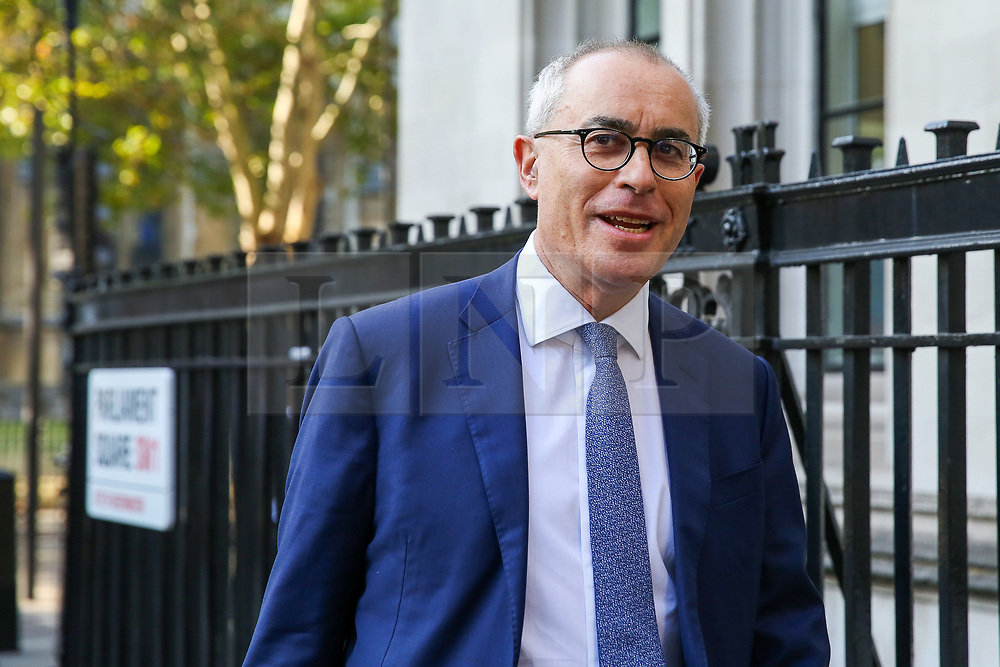 © Licensed to London News Pictures. 19/09/2019. London, UK. LORD DAVID PANNICK QC arrives at UK Supreme Court in London on the final day of the three day appeal hearing in the multiple legal challenges against the Prime Minister Boris Johnson's decision to prorogue Parliament ahead of a Queen's speech on 14 October. Since Tuesday 17 September, eleven instead of the usual nine Supreme Court justices have been hearing the politically charged claim that Boris Johnson acted unlawfully in advising the Queen to suspend parliament for five weeks in order to stifle debate over the Brexit crisis. It is the first time the Supreme Court has been summoned for an emergency hearing outside legal term time. Lady Hale, the first female president of the court who retires next January, has been preside the Brexit-related judicial review cases. Photo credit: Dinendra Haria/LNP