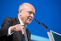 09 NOV 2018, BERLIN/GERMANY:<br /> Prof. Dr. Koen Lenaerts, Praesident des Europaeischen Gerichtshofs, haelt die Europa-Rede, eine jaehrlich wiederkehrende Stellungnahme der hoechsten Repraesentanten der Europaeischen Union zur Idee und zur Lage Europas, organisiert von der Konrad-Adenauer-Stiftung, der Stiftung Zukunft Berlin, der Schwarzkopf Stiftung Junges Europa sowie der Stiftung Mercator, Allianz Forum<br /> IMAGE: 20181109-01-095