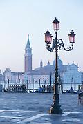 San Giorgio Maggiore as seen from St Mark's Square.Venice, Italy, Europe