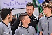 Gabriele Bettini, Mini Arbitri<br /> Banco di Sardegna Dinamo Sassari - Fiat Auxilium Torino<br /> Legabasket Serie A LBA PosteMobile 2017/2018<br /> Sassari, 27/01/2018<br /> Foto L.Canu / Ciamillo-Castoria