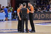 DESCRIZIONE : Eurolega Euroleague 2015/16 Group D Dinamo Banco di Sardegna Sassari - Brose Basket Bamberg<br /> GIOCATORE : RADOVIC, SRETEN (CRO), GKONTAS, SPIROS (GRE), ROMANO, DAVID (ISR)<br /> CATEGORIA : Arbitro Referee<br /> SQUADRA : Arbitro Referee<br /> EVENTO : Eurolega Euroleague 2015/2016<br /> GARA : Dinamo Banco di Sardegna Sassari - Brose Basket Bamberg<br /> DATA : 13/11/2015<br /> SPORT : Pallacanestro <br /> AUTORE : Agenzia Ciamillo-Castoria/L.Canu