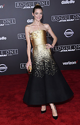 Celebrities arrive at the 'Rogue One: A Star Wars Story' movie premiere in Hollywood, California. 10 Dec 2016 Pictured: Jaime King. Photo credit: American Foto Features / MEGA TheMegaAgency.com +1 888 505 6342