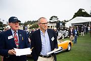 August 15, 2019:  Pebble Beach Concours, Stefano Domenicali, CEO of Lamborghini