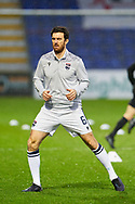 Ross Draper of Ross County Pre Match during the Scottish Premiership match between Ross County FC and St Mirren FC at the Global Energy Stadium, Dingwall, Scotland on 26 December 2020