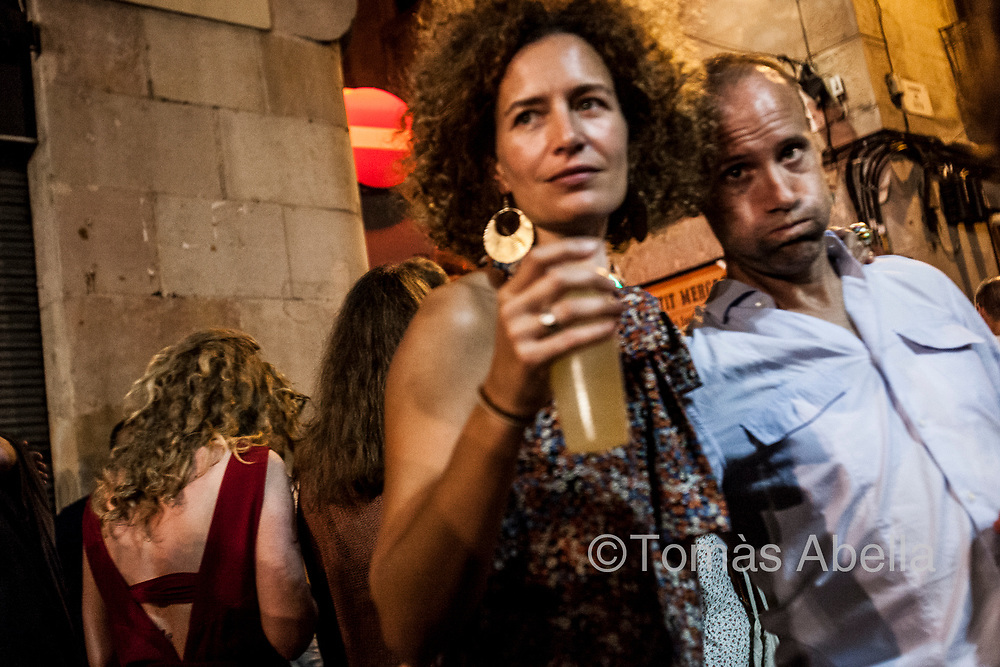Many locals have trouble getting sleep due to the‒mostly tourism-related‒nightlife noise level. This often leads to serious health problems as a consequence of noise related stress. Fiesta Mayor in the Gràcia neighbourhood