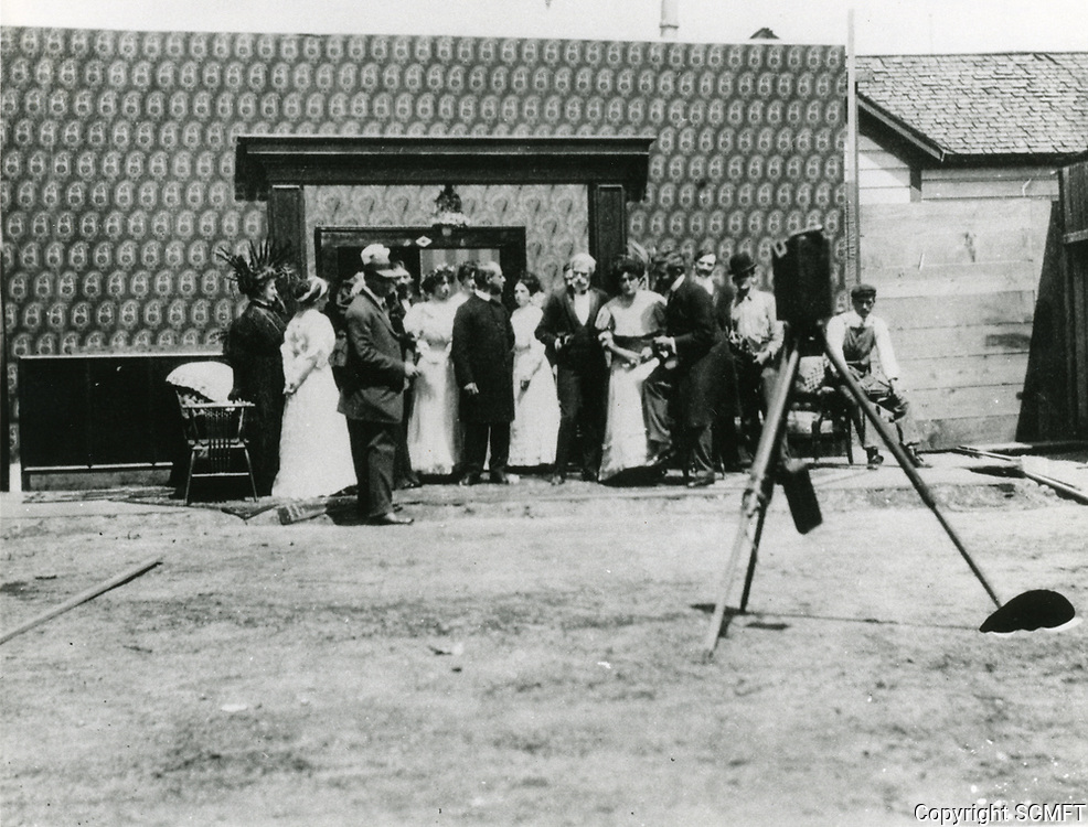 1909 Filming Heart of a Race Tout at Selig Polyscope