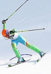 Bernard Vajdic at second run of 9th men's slalom race of Audi FIS Ski World Cup, Pokal Vitranc,  in Podkoren, Kranjska Gora, Slovenia, on March 1, 2009. (Photo by Vid Ponikvar / Sportida)