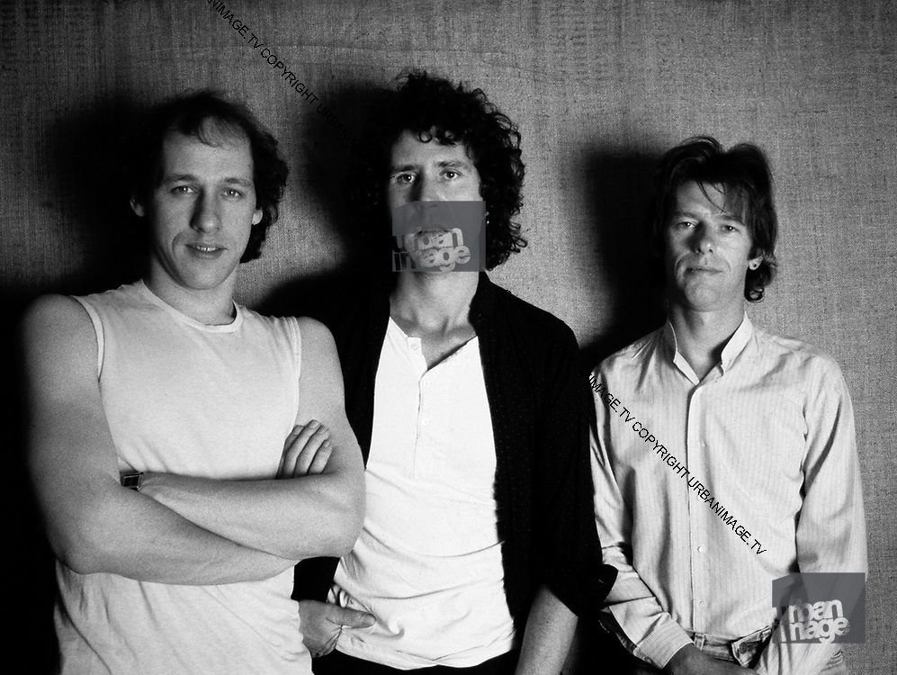 Dire Straits. Pick Withers John Illsley and Mark Knopfler, 1979