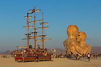 The Monaco, Land Frigate of Burning Man and Embrace