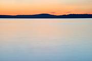 Pastel Sunset #2, San Juan Islands, Washington State
