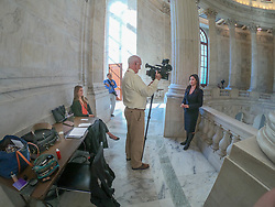 Interview Area On Second Floor Of US Senate Gallery