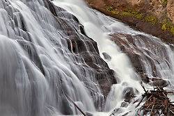 Gibbon Falls, Yellowstone National Park,