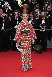 Victoria Abril arriving at Les Fantomes d'Ismael screening and opening ceremony held at the Palais Des Festivals in Cannes, France on May 17, 2017, as part of the 70th Cannes Film Festival. Photo by David Boyer/ABACAPRESS.COM