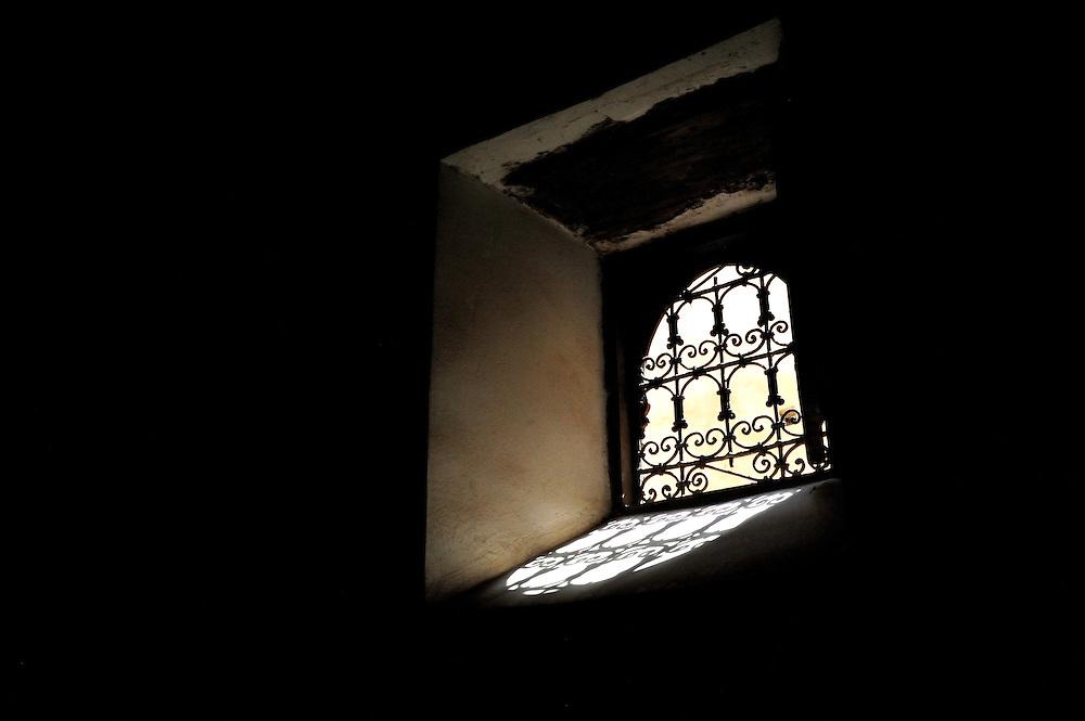 Monks cell inside Madrassa Ben Yusef