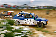 Car 225 in action during the race meeting at Smallfield Raceway, Surrey, UK on the 10th of July 2011 (photo by Andrew Tobin/SLIK images)