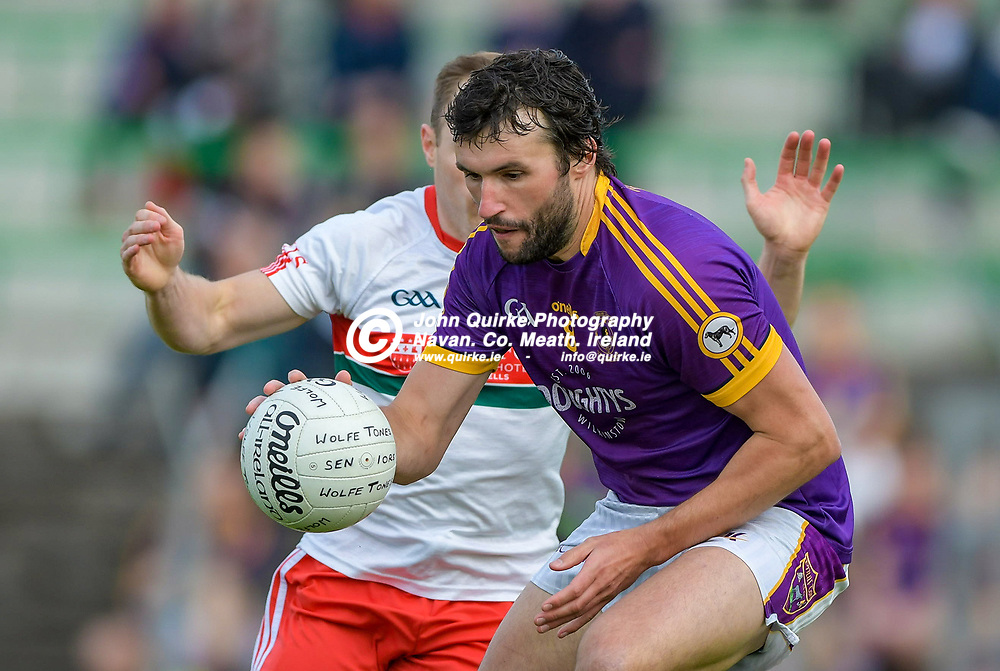 Alan Callaghan in action for Wolf Tones,   in the Gaeil Colmcille v Wolfe Tones, 2020 Feis Cup Final match, at Páirc Tailteann, Navan.<br /> <br /> Photo: GERRY SHANAHAN-WWW.QUIRKE.IE<br /> <br /> 02-08-2021