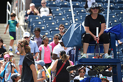 Stefanos Tsitsipas (GRE) during his practice at the 2019 US Open at Billie Jean National Tennis Center in New York City, NY, USA, on August 24, 2019. Photo by Corinne Dubreuil/ABACAPRESS.COM