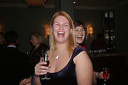 Louise Noble ( chairman of charity) and Miss Victoria Scott. . White Knights Ball, Grosvenor House Hotel 7 January 2005. ONE TIME USE ONLY - DO NOT ARCHIVE  © Copyright Photograph by Dafydd Jones 66 Stockwell Park Rd. London SW9 0DA Tel 020 7733 0108 www.dafjones.com