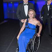 NLD/Amsterdam/20181219 - NOC*NSF Sportgala 2018, Esther Vergeer en partner
