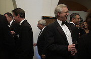 David Cameron and David Davis .  The Leader's Dinner ( Michael Howard's ) Banqueting House. Whitehall. London.  November 2005. ONE TIME USE ONLY - DO NOT ARCHIVE  © Copyright Photograph by Dafydd Jones 66 Stockwell Park Rd. London SW9 0DA Tel 020 7733 0108 www.dafjones.com