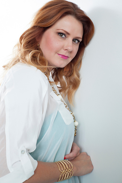 07 June 2012- Brooke Levey from Creative Hair Design is photgraphed in Omaha, Nebraska for Her Magazine.