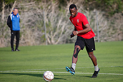 January 6, 2018 - Cadiz, SPAIN - Mouscron's Fabrice Olinga pictured during the first day of the winter training camp of Belgian first division soccer team Royal Excel Mouscron, in Cadiz, Spain, Saturday 06 January 2018. BELGA PHOTO BRUNO FAHY (Credit Image: © Bruno Fahy/Belga via ZUMA Press)