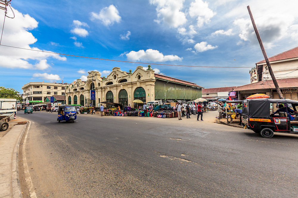 Mackinnon Market in Mombasa, Kenya. Mombasa's municipal market has its name in honor of Sir William MacKinnon, founder of the Imperial British East Africa Company.