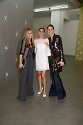 PIPPA HOLT, JUSTINE DOBBS-HIGGINSON AND YANA PEEL. John Armleder preview/ dinner. Simon Lee Gallery and afterwards at Automat. Berkeley St. London. 24 June 2008.  *** Local Caption *** -DO NOT ARCHIVE-© Copyright Photograph by Dafydd Jones. 248 Clapham Rd. London SW9 0PZ. Tel 0207 820 0771. www.dafjones.com.