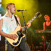 COLUMBIA, MD - May 30, 2015 - Jack Antonoff of Bleachers performs at the 2015 Sweetlife Festival at Merriweather Post Pavilion in Columbia, MD. (Photo by Kyle Gustafson / For The Washington Post)