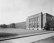 ackroyd_05513-5. Grant High School. exterior. September 9, 1954