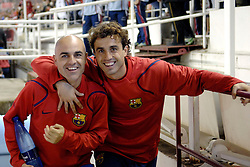 03-03-2007 VOETBAL: SEVILLA FC - BARCELONA: SEVILLA  <br /> Sevilla wint de topper met Barcelona met 2-1 / Santiago Ezquerro Marín en <br /> ©2006-WWW.FOTOHOOGENDOORN.NL