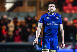 Leinster's Jack Conan<br /> <br /> Photographer Craig Thomas/Replay Images<br /> <br /> Guinness PRO14 Round 17 - Scarlets v Leinster - Friday 9th March 2018 - Parc Y Scarlets - Llanelli<br /> <br /> World Copyright © Replay Images . All rights reserved. info@replayimages.co.uk - http://replayimages.co.uk