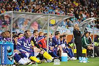 FOOTBALL - FIFA WORLD CUP 2010 - GROUP STAGE - GROUP A - URUGUAY v FRANCE - 11/06/2010 - PHOTO FRANCK FAUGERE / DPPI - RAYMOND DOMENECH (FRANCE COACH)