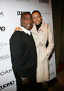 """Tracy Morgan and Guest at the cocktail party celebrating Sean """"Diddy"""" Combs appearance on the """" Black on Black """" cover of L'Uomo Vogue's October Music Issue"""