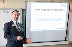 Boris Korosak, Podjetniski zajtrk skupine BNI Mostovi, on May 8th, 2019 in Ljubljana, Slovenia. Photo by Vid Ponikvar / Sportida