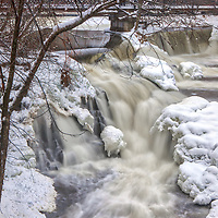 Roaring Newton Falls, a local waterfall gem covered in snow and ice.<br /> <br /> Newton Falls waterfalls photography images are available as museum quality photography prints, canvas prints, acrylic prints or metal prints. Prints may be framed and matted to the individual liking and room decor needs:<br /> <br /> https://juergen-roth.pixels.com/featured/massachusetts-winter-scenery-at-roaring-newton-falls-juergen-roth.html<br /> <br /> Good light and happy photo making!<br /> <br /> My best,<br /> <br /> Juergen