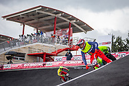 2021 UCI BMXSX World Cup<br /> Round 4 at Bogota (Colombia)<br /> Qualification Moto<br /> ^mu#635 CASTRO CEVALLOS, Cristhian Felicicimo (ECU, MU)